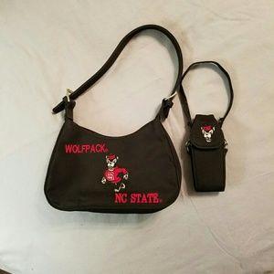 NC State Wolfpack Purse Handbag